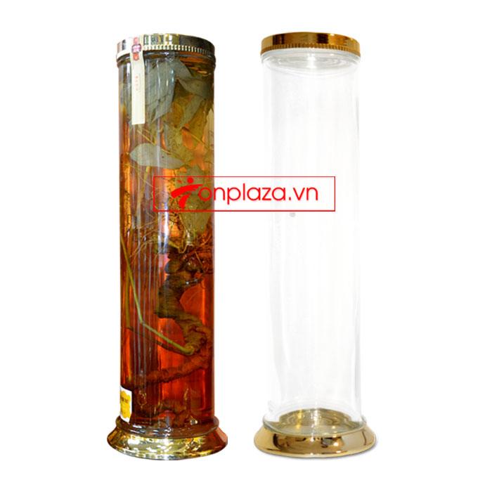 Bình sâm Ngọc Linh hình trụ 20 lit NS327 (loại 10 củ/kg) NS327 3