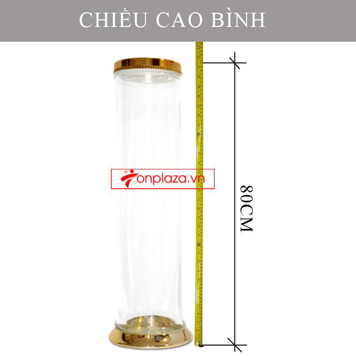 Bình sâm Ngọc Linh hình trụ 20 lit NS327 (loại 10 củ/kg) NS327 4