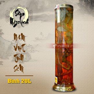 Bình ngâm sâm Ngọc Linh tươi loại lớn 20L NS327