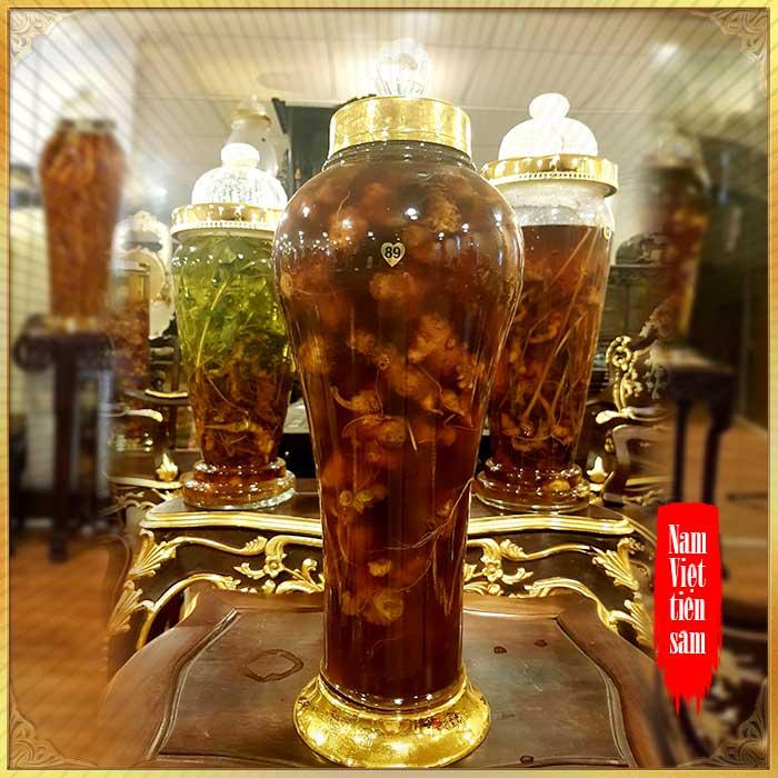 Bình sâm Ngọc Linh hảo hạng số 89 - 5 lít
