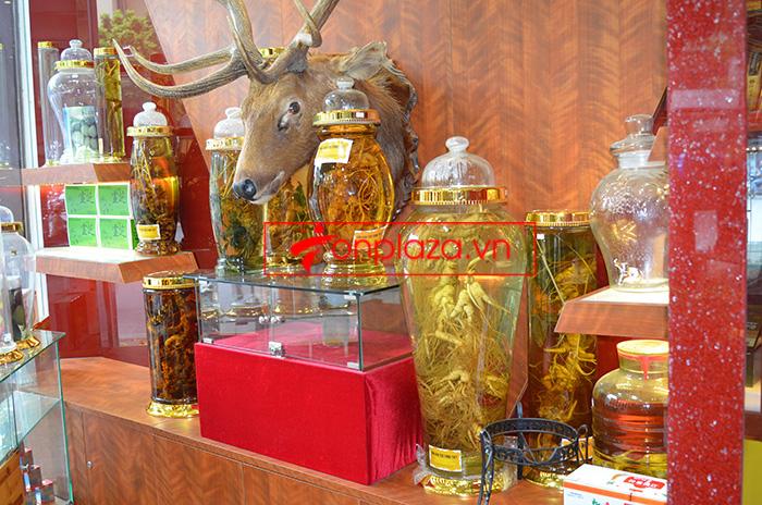 Các sản phẩm sâm ngọc linh khác tại showroom Onplaza 5