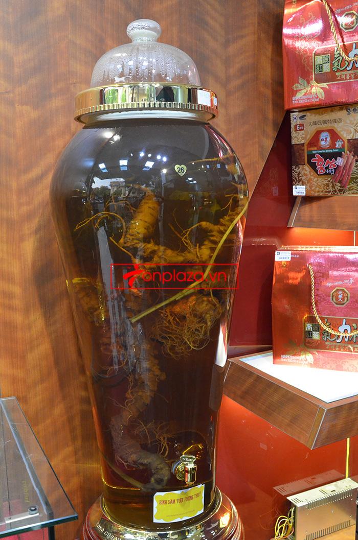 Các sản phẩm sâm ngọc linh khác tại showroom Onplaza 9