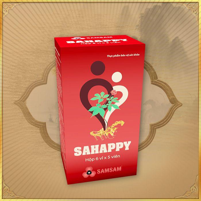 Sahappy – Chiết xuất Sâm Ngọc Linh Việt Nam