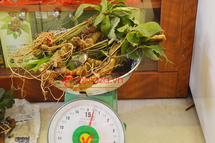 Sâm ngọc linh tự nhiên loại 5 củ 1 kg 9
