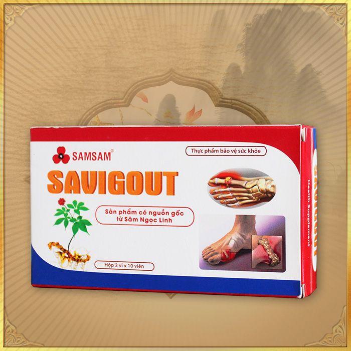 Thực phẩm bảo vệ sức khỏe sâm ngọc linh dạng viên Savigout