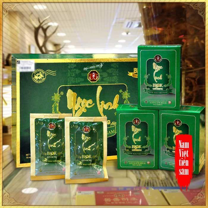 Tinh chất Sâm Ngọc Linh thượng hạng hộp 15 gói NS186