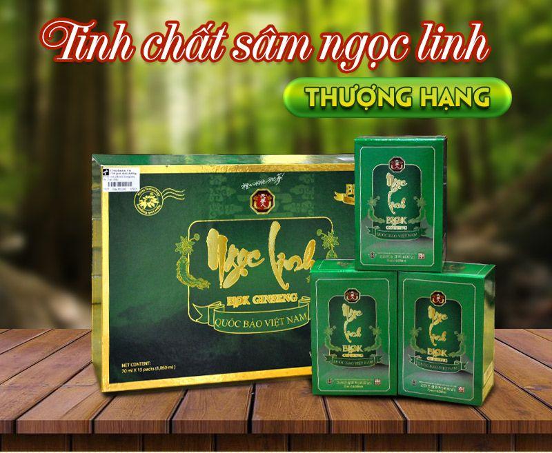 Tinh chất Sâm Ngọc Linh thượng hạng hộp 15 gói NS186 1