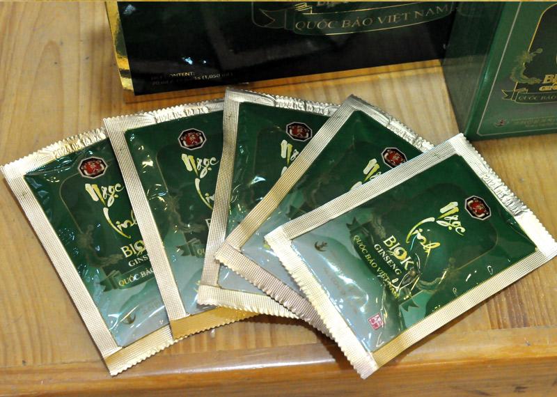 Tinh chất Sâm Ngọc Linh thượng hạng hộp 15 gói NS186 8