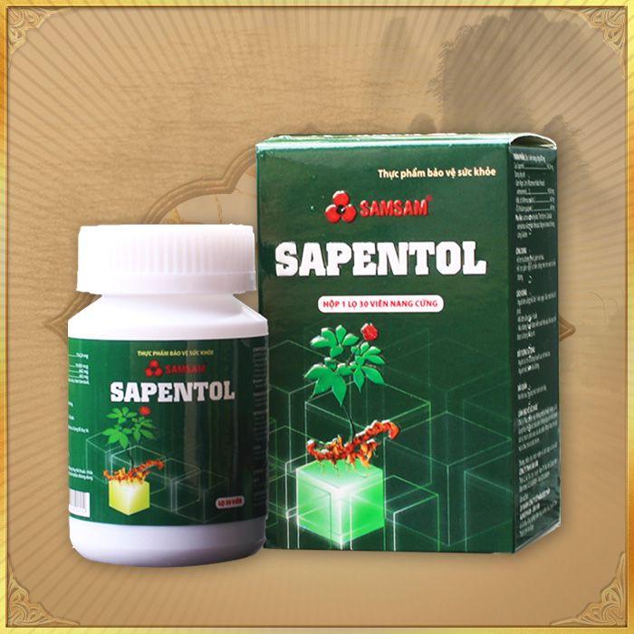Viên sâm Ngọc Linh Sapentol tốt cho sức khỏe