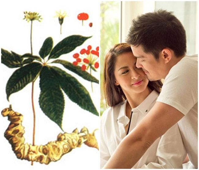 Quan hệ vợ chồng hạnh phúc nhờ sâm Ngọc Linh