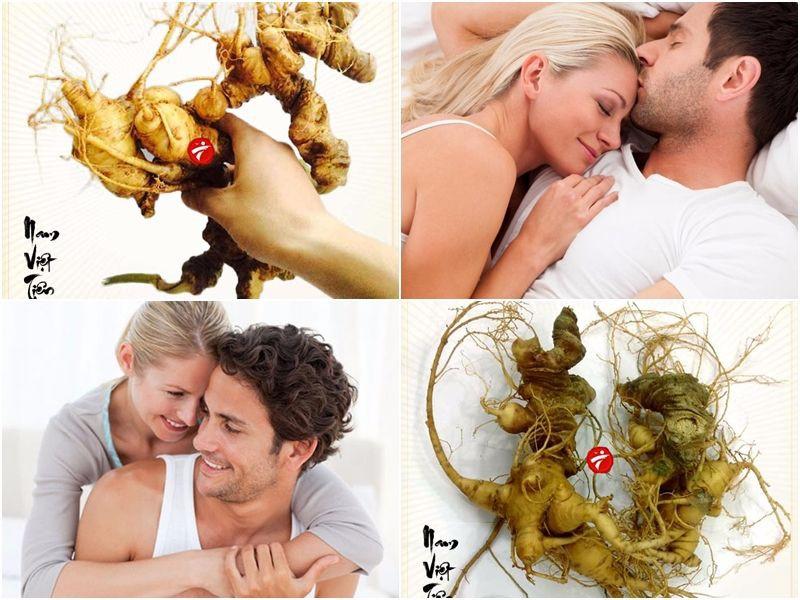 Đời sống tình dục phong phú hơn vơi sâm Ngọc Linh