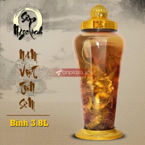 Bình ngâm sâm Ngọc Linh 3,8 lít NS317